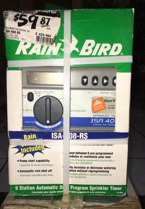 Rain Bird 8 station sprinkler timer for Sale in Bartow, FL
