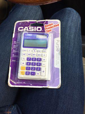new casio calculator for Sale in Schaumburg, IL