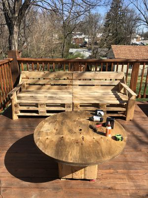 Pallet furniture built to order for Sale in University City, MO