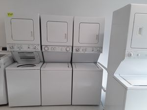 Staker used washer and dryer good conditions 90 days warranty for Sale in Mount Rainier, MD