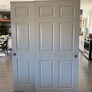 "Closet Doors 30x78 "" (2) For $50.00 for Sale in San Bernardino, CA"