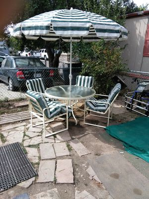 Marlin outdoor patio furniture for Sale in Denver, CO