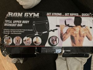 Iron Gym Pull Up Bar for Sale in San Diego, CA