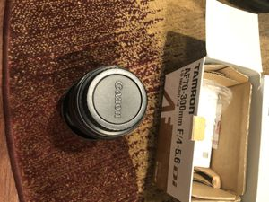 Canon/Tamron AF70-300mm F/4-5.6 zoom lens for Canon for Sale in Niles, IL