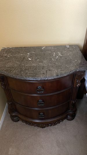 Estate Sale: Two elegant night stands w/marble tops for Sale in Bakersfield, CA