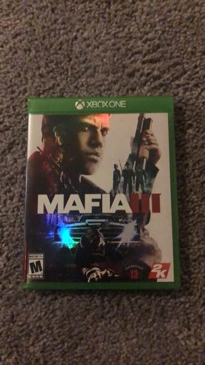 Mafia 3 Xbox One for Sale in Germantown, MD