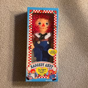 Raggedy Andy vintage Doll for Sale in SeaTac, WA