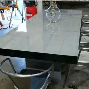 GREY BISTRO DINING TABLE for Sale in Los Angeles, CA