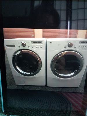 LG washer and gas dryer for Sale in San Leandro, CA