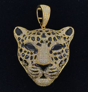 Icedout Detailed Panther Face Custom Charm Free Chain for Sale in Atlanta, GA