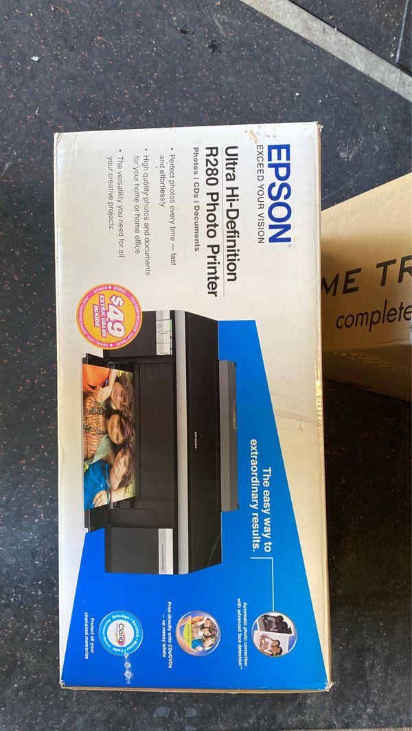 Edson Hi-Definition R280 Photo Printer New!