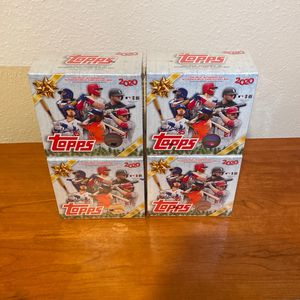 Topps Holiday Mega Box 🔥 1 Mega Box 4 Total 🔥 for Sale in Houston, TX