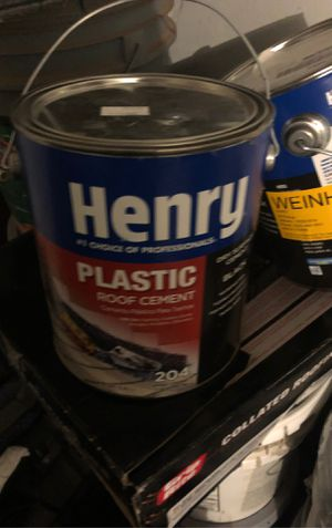 Henry's plastic roof cement for Sale in Apache Junction, AZ