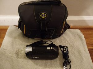 Sony 9.2 handy cam 60 power zoom with case for Sale in Nashville, TN