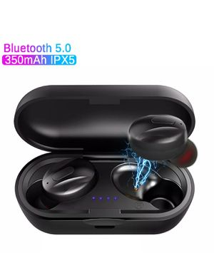 Wireless Earbuds Headphones Headset With Mic Waterproof TWS Earphones 5.0 Bluetooth AirPods2 for Sale in Lubbock, TX