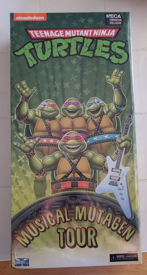 Neca SDCC TMNT Mutagen Tour set for Sale in Los Angeles, CA