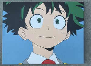 Deku My Hero Academia Canvas Painting for Sale in Hollister, CA