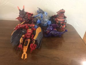 Dragon toy figures for Sale in Amarillo, TX