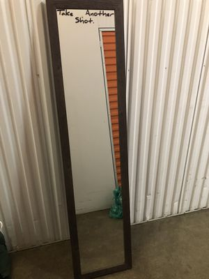 5ft Mirror w/ stand attached for Sale in The Bronx, NY