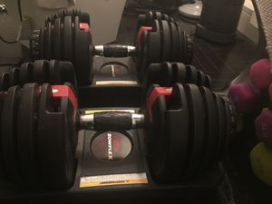 Blowflex adjustable dumbbell sets and yoga dumbbells for Sale in New York, NY