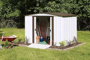 FULLY ASSEMBLED Arrow 8' X 6' Electro-galvanized Steel Storage Shed for Sale in Austin, TX
