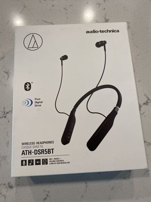 New in box: Audio-technica wireless headphones ATH-DSR5BT for Sale in Tampa, FL