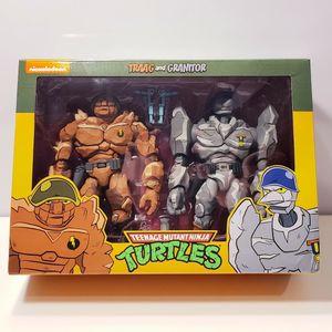 TMNT Traag & Granitor NECA Teenage Mutant Ninja Turtles for Sale in Houston, TX