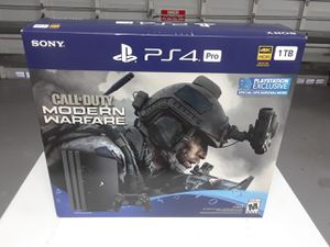 Sale ps4-pro 1tb + Call of Duty new and sealed for Sale in Pembroke Pines, FL