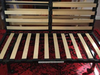 Full Sized Futon Frame Trifold Bedframe for Sale in Elizabeth,  PA