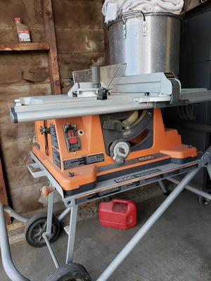 Ridgid table saw for Sale in Montclair, CA