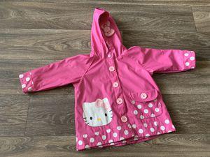 Hello kitty raincoat size 2T for Sale in Clarksville, TN