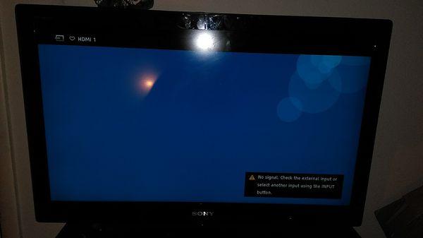 "32"" Sony bravia flat screen TV"