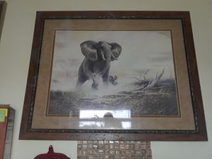 Massive elephant photo for Sale in Ruskin, FL