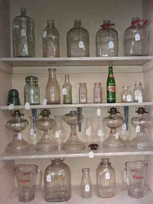 Antiques, Bottles, Pottery, Signs, Tools etc... for Sale in Boiling Springs, NC