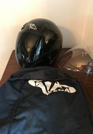 Vega Motorcycle Helmet w/extra clear visor for Sale in Upper Arlington, OH