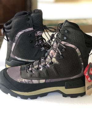 Under Armour UA Brow Tine 2.0 800G Hunting Boots Camo Size for Sale in Garden Grove, CA
