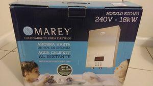 Tankless water heater Marey brand, Model ECO180. for Sale in Tamarac, FL