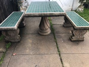 Patio set Firm on Price!! for Sale in Stockton, CA