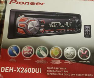 PIONEER DEH-X2600UI for Sale in Oakley, CA