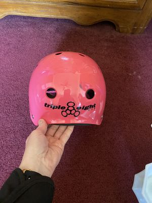 Triple Eight Skate Helmet for Sale in Quincy, IL