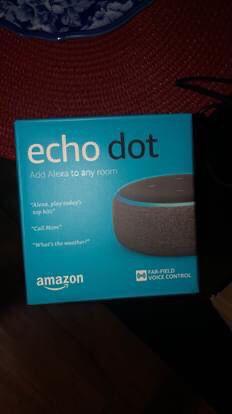 3rd gen Echo dot (Charcoal) for Sale in Belleville, IL