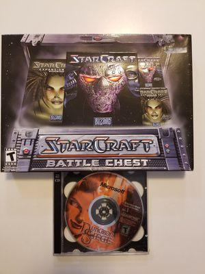 Computer Games Starcraft Battlechest, Dungeon Siege for Sale in Puyallup, WA