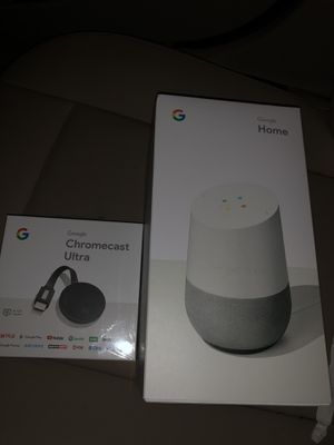 Google Home and Chromecast for Sale in East Windsor, NJ