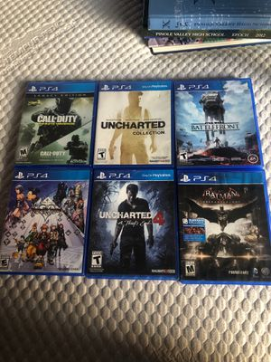 PS4 game bundle for Sale in Martinez, CA