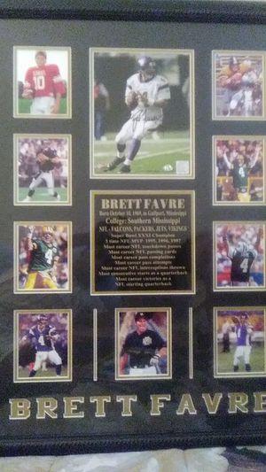 Brette Favre..Authentic picture for Sale in North Miami, FL