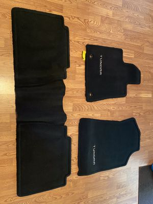 Toyota Tundra Double Cab Genuine OEM Carpet Floor Mats for Sale in Roseville, CA