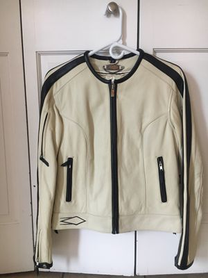 Woman Leather Motorcycle Jacket. Size S. for Sale in Denver, CO