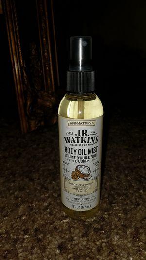 J.R. Watkins Body Oil Mist 6fl oz for Sale in Golden, CO