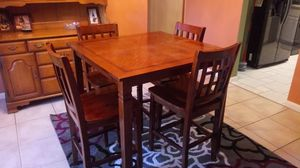 Solid wood dining table for Sale in Mulberry, FL