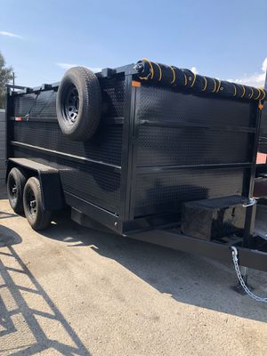 8x12x4 DUMP TRAILER for Sale in Redwood City, CA